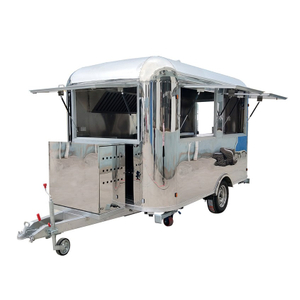 YG-TZ-66A Remolque de café de acero inoxidable Pizza Truck Catering Food Trailers Mobile Food Truck