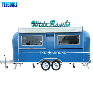 YG-TZ-66 Mobile Food Trailer Machines Snack Machines Mobile Food Truck, Foodtuck Mobile Catering Trailers con ruedas